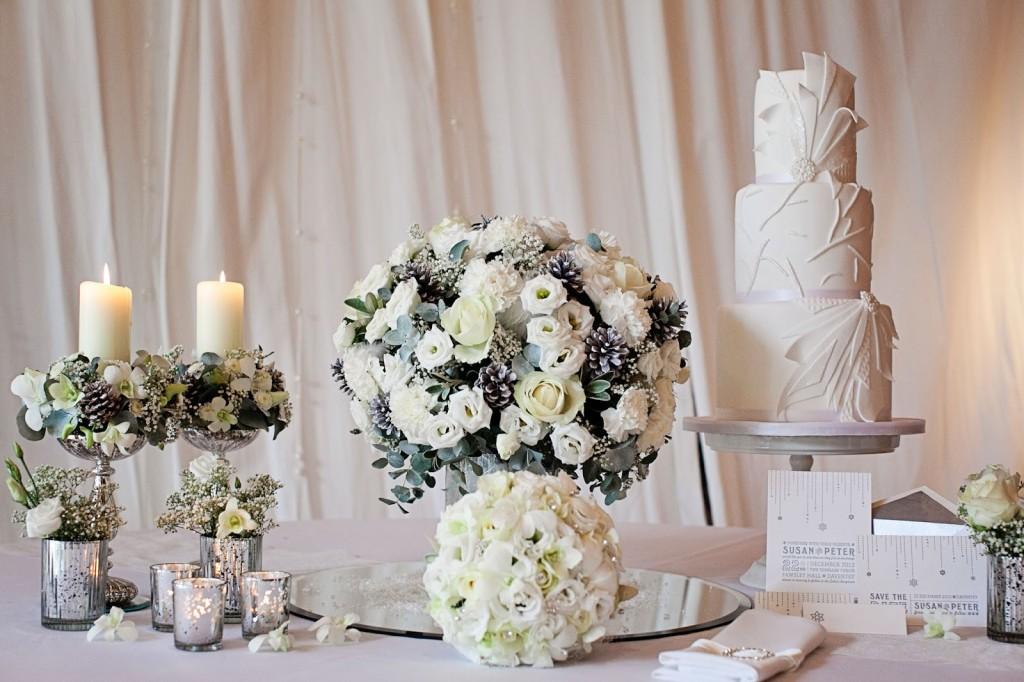 białe dekoracje slubne
