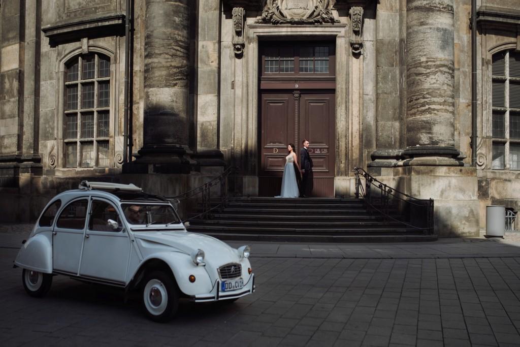 Plener ślubny w Dreźnie