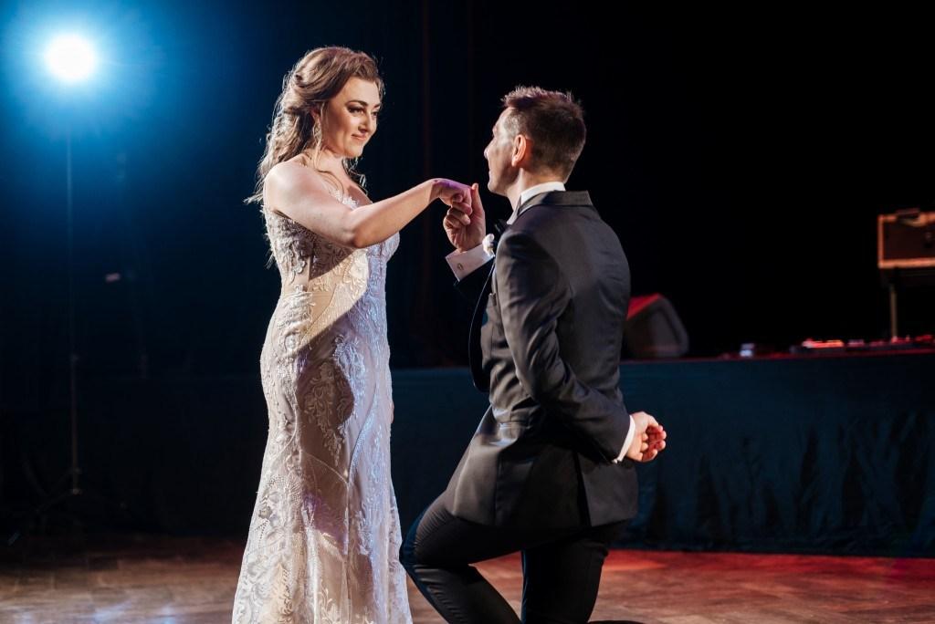 Eleganckie wesele w starym teatrze w dwór Gościnny w Szczawnicy