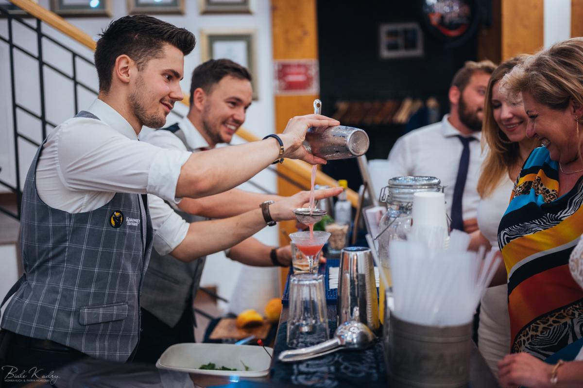 barmani na weselu - zdjęcia ślubne Małopolska Kraków