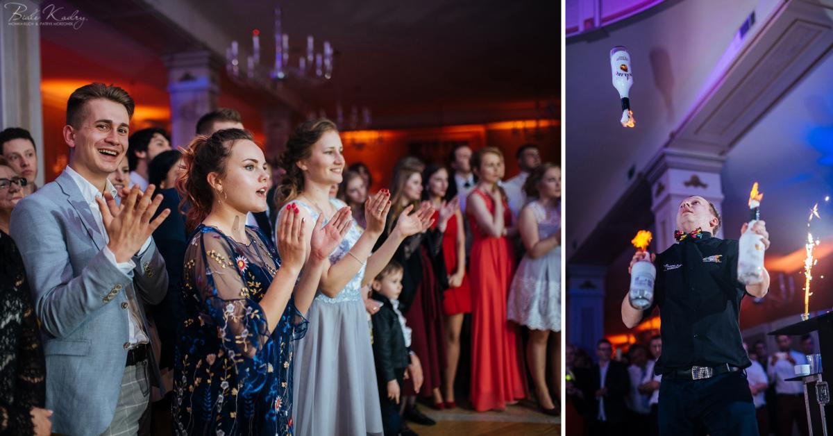 Barman na wesele, pokaz barmański i obsługa barmańska