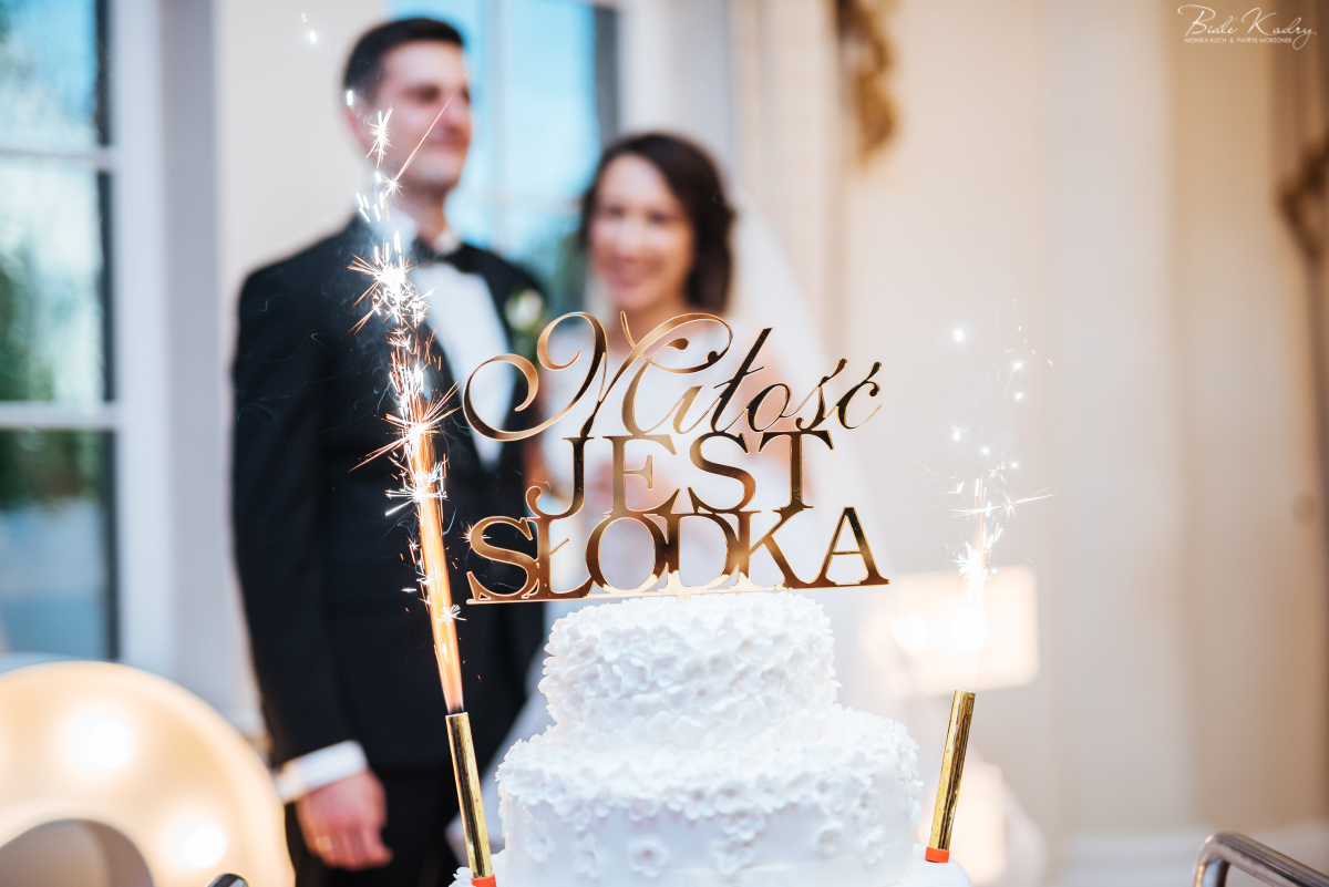 topper na tort fotografia ślubna kraków małopolska